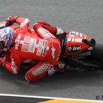 Casey Stoner beim Moto GP 2010am Sachsenring