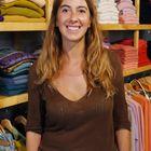 Cashmere shopwoman