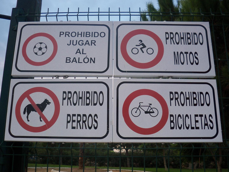casi todo prohibido
