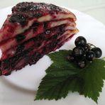 Cassis-Torte