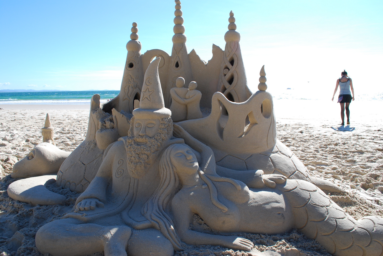 castel in the sand