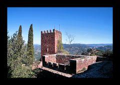 Castel Monestir de Sant Miquel d'Escornalbou in Riudecanyes