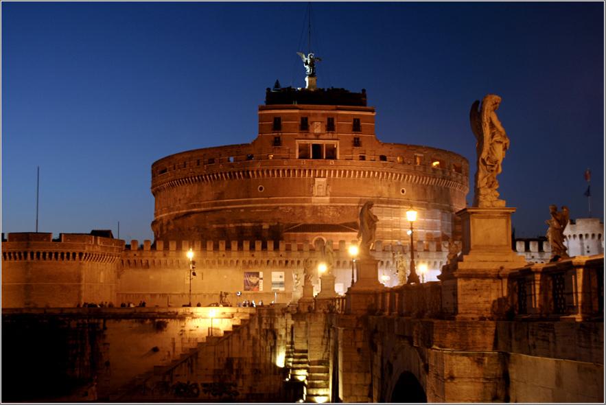 Castel Sant` Angelo im Abendlicht