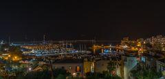 Castellammare del Golfo at Night