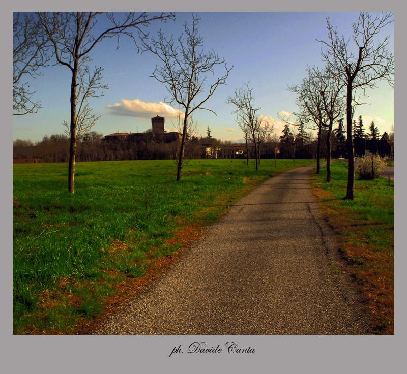 castello da lontano