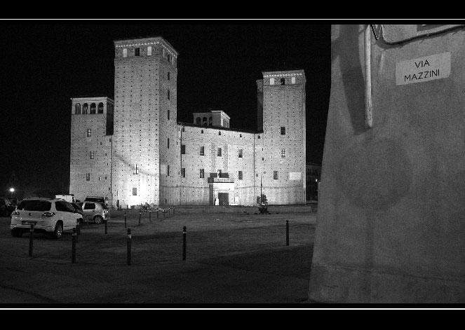 Castello di Fossano, notte!