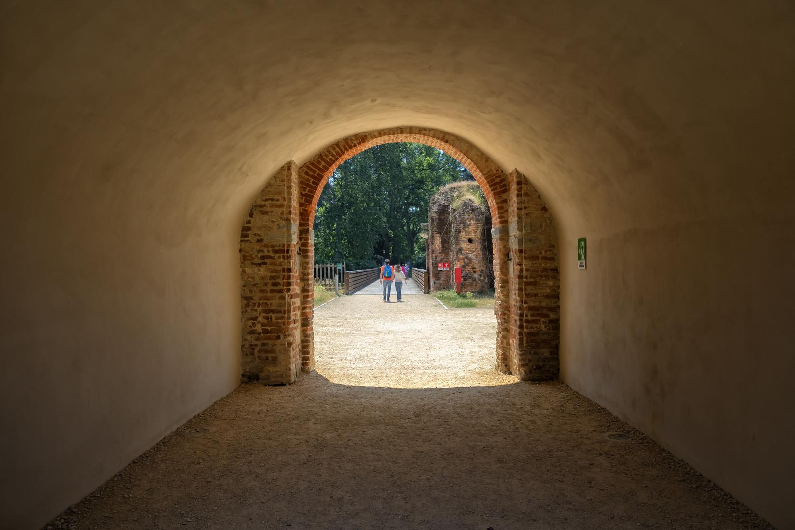 Castello Visconteo di Novara, portico