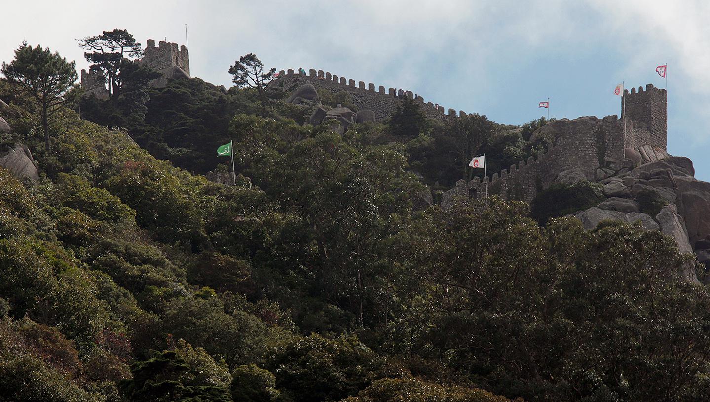 Castelo dos Mouros – alte Burgruine der Mauren, Sintra