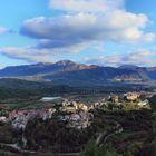 Castelvetere sul Calore (AV) - Panorama d'autunno