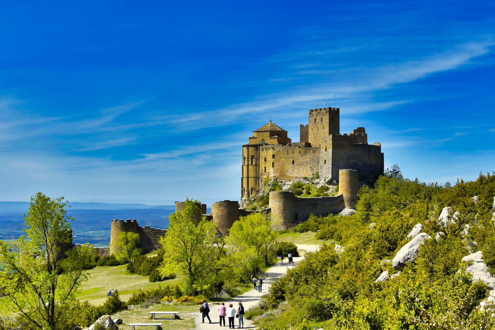 Castillo de Loarre (Huesca,Aragón)