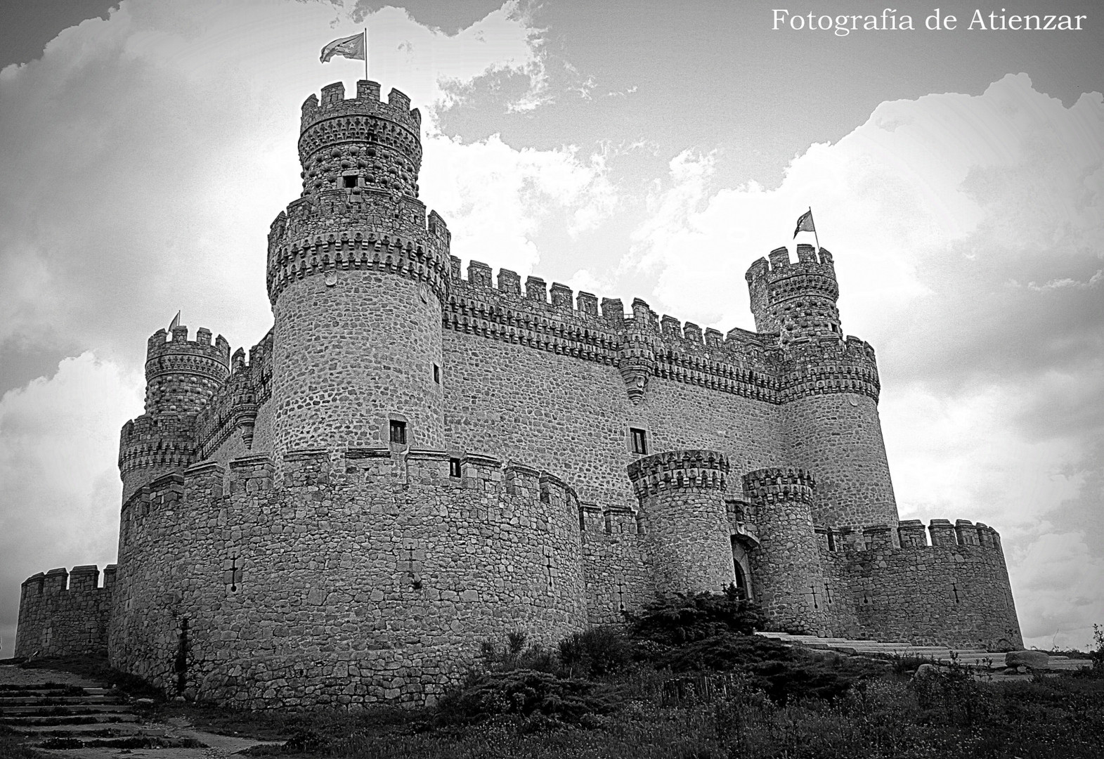 Castillo de Manzanares el Real.
