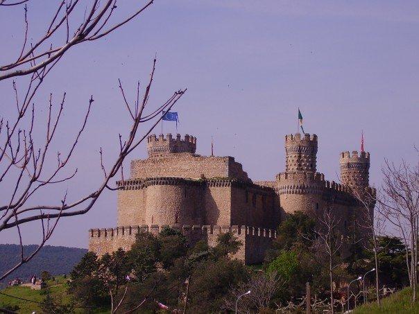 Castillo de Manzanares el Real, Día