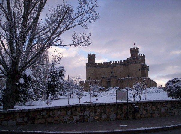 Castillo de Manzanares el Real, Nevado