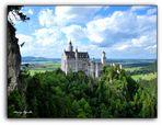 Castillo de Neuschwanstein. Una fantasía hecha piedra.