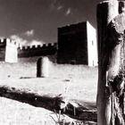 Castillo Pedraza en Segovia y pareja