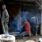 Casting pot
