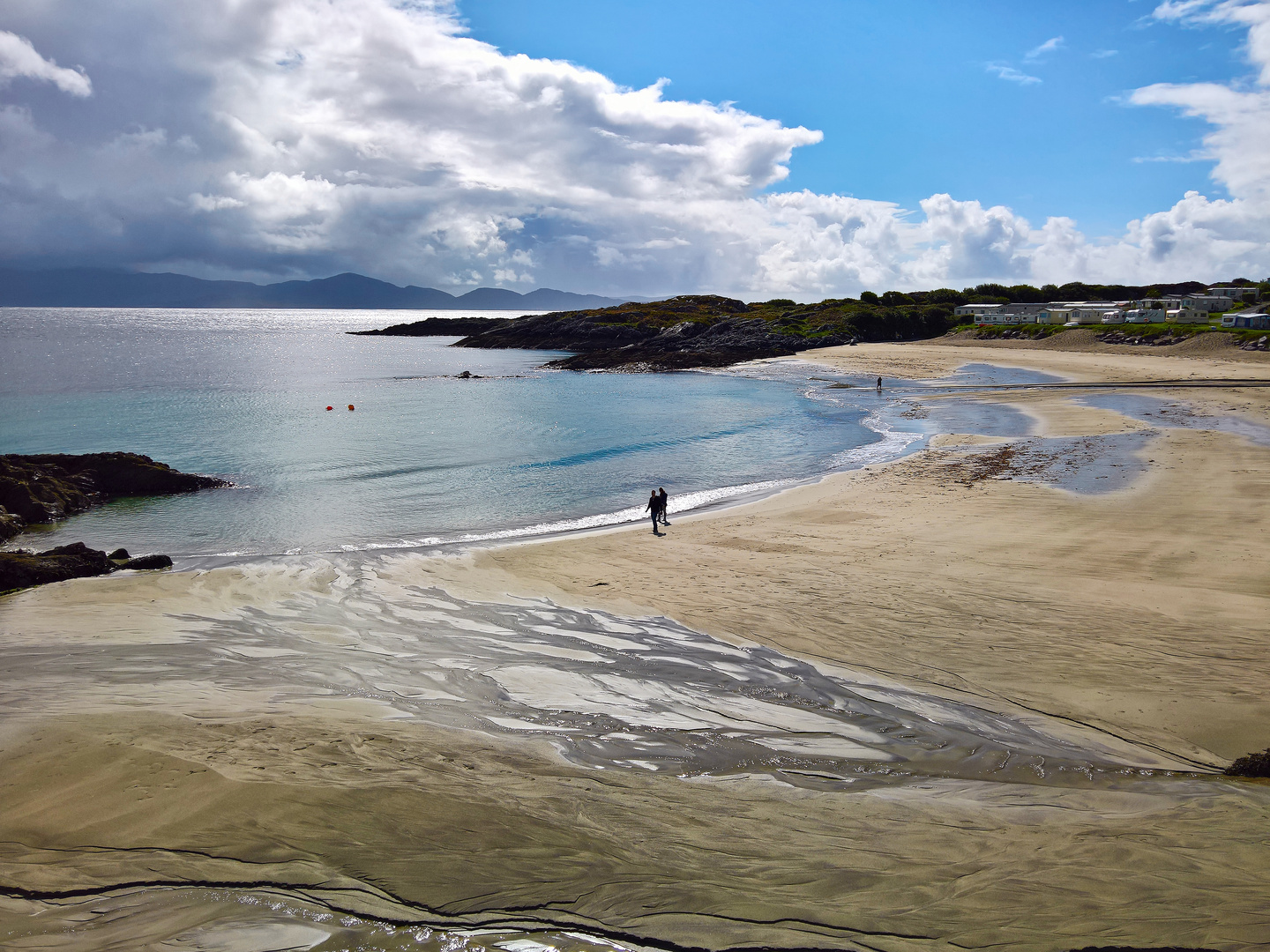 Castle Cove Beach am Ring of Kerry in Ireland