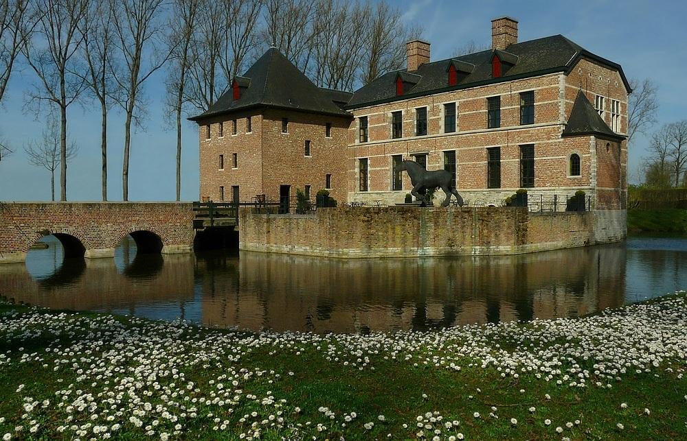 Castle 'Diepensteyn' at Steenhuffel (Belgium)