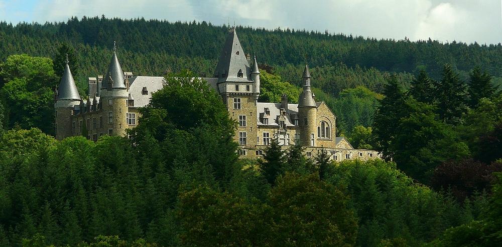 Castle 'Froidcour' at Stoumont (Belgium) (1)
