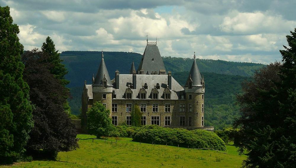 Castle 'Froidcour' at Stoumont (Belgium) (2)
