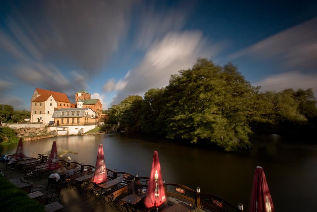 Castle on Wieprza river