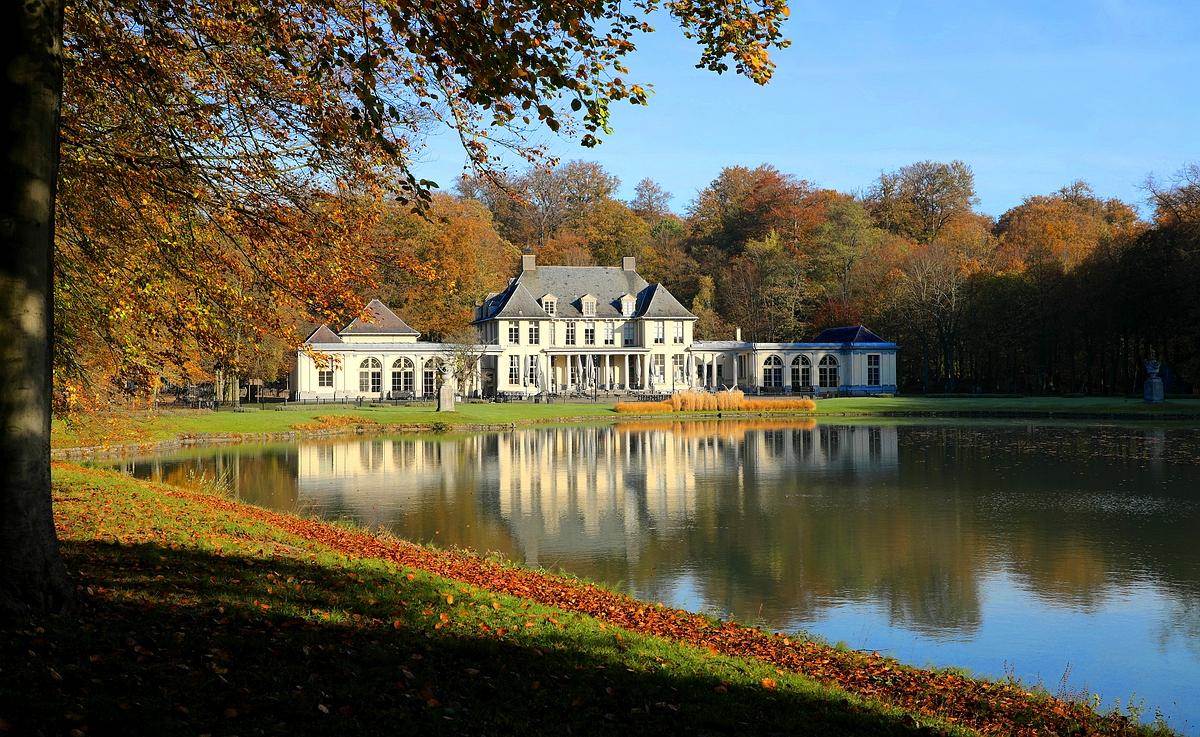 Castle 'Rivierenhof' at Deurne (Belgium)