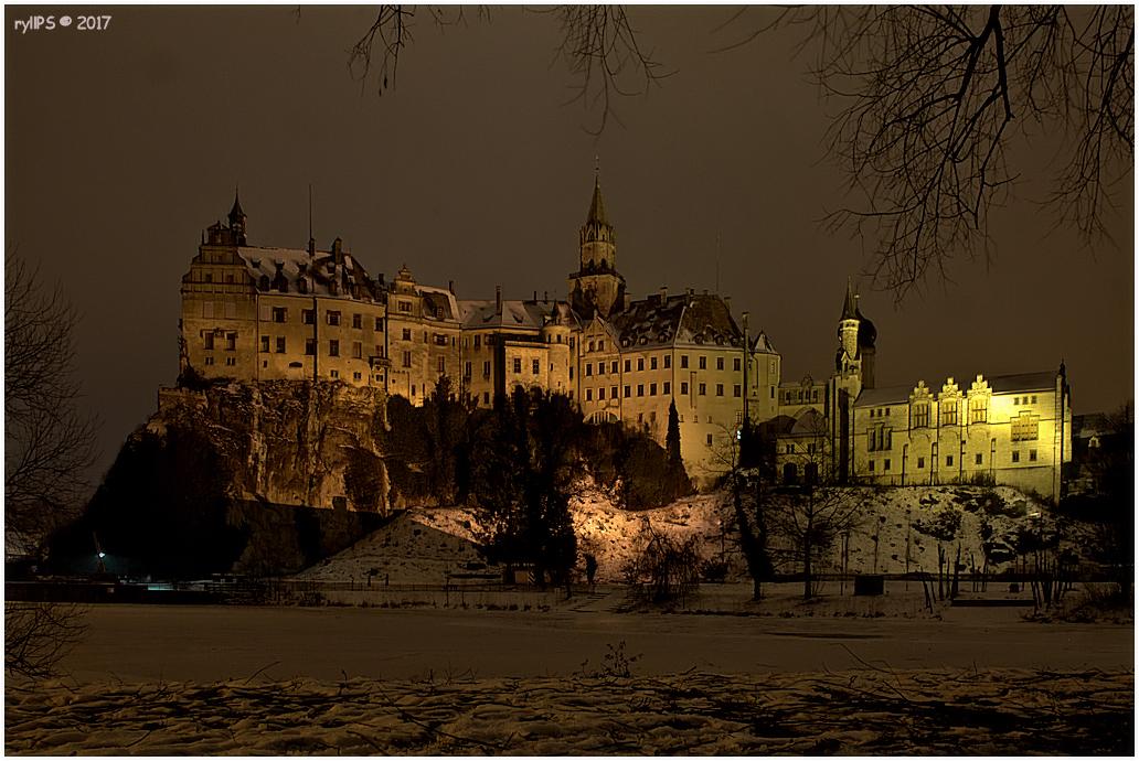 Castle Sigmaringen by Night