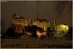Castle Sigmaringen by Night