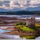 Castle Stalker am Loch Linnhe - Schottland