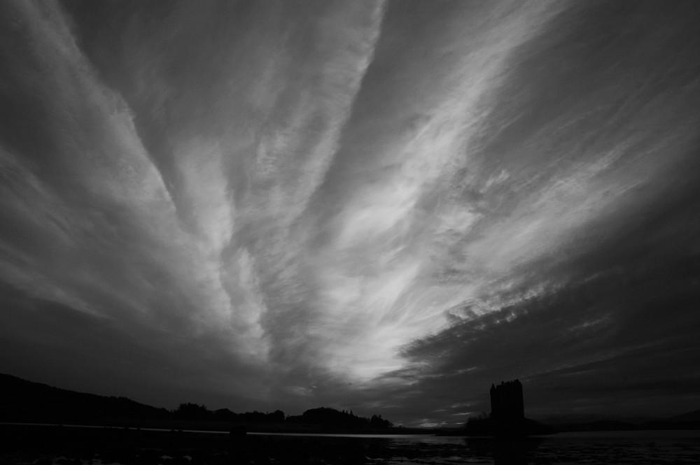 Castle Stalker, Scotland - at dusk