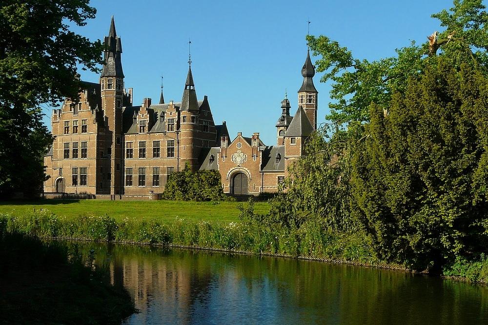 Castle 'Sterckshof' at Deurne (Belgium)