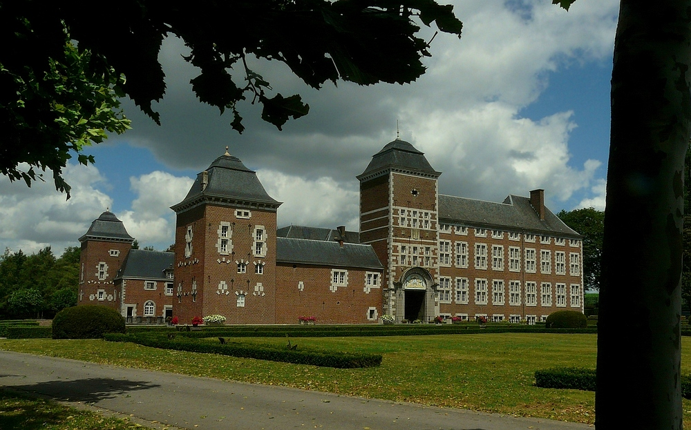 Castle 'Wégimont' at Soumagne (Belgium)