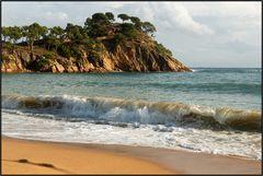 Catalonia   platja de castell  