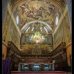 Catedral de Jaca... Abside central y altar mayor