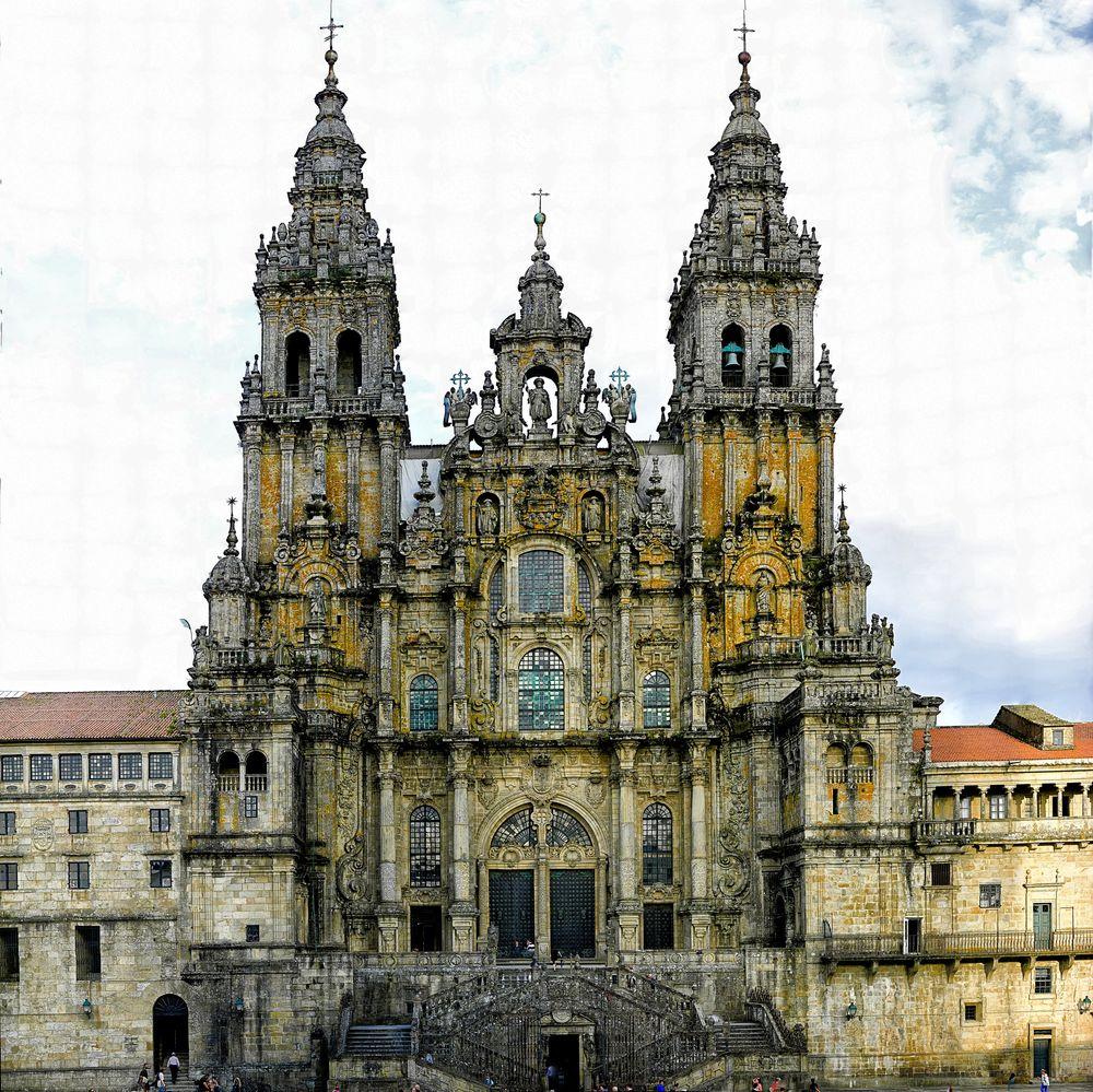 Catedral de santiago de compostela imagen foto arquitectura edificios templos fotos de - Santiago de compostela arquitectura ...