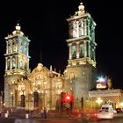 Catedral Puebla, México (nocturna)