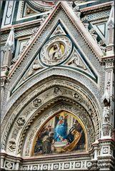 Catedrale di Firenze..Particolare.