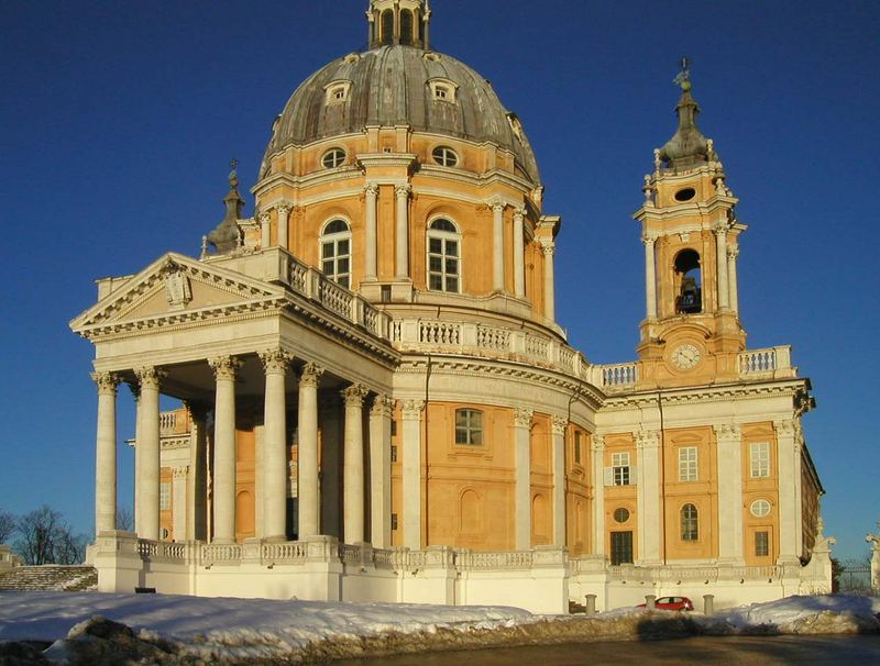 Cathedral in Torino from outside