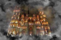 ~ cathédrale en feu #2 ~
