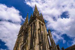 Cathedrale Saint-Corentin, Quimper, Bretagne, France