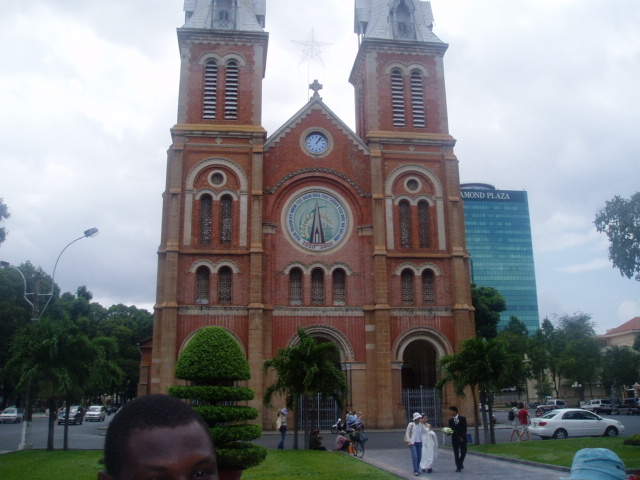 Catholic church at Ho chi minh city