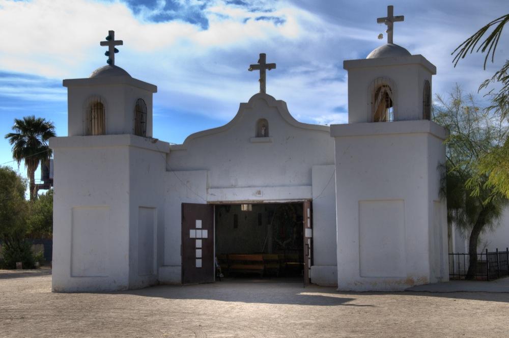 Catholic Church Old Town Guadalupe, Arizona