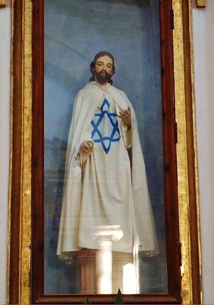 Catholic Star of David in Mexico