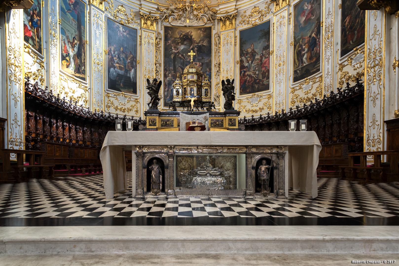 Cattedrale di Sant'Alessandro, l''altare del Duomo di Bergamo alta