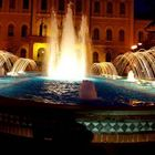 Cattolica, fontana davanti al municipio.