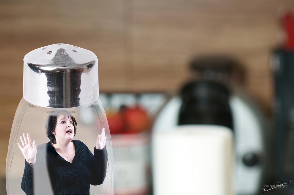 Caught in the salt shaker