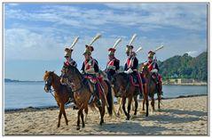 cavalieri del esercito di Napoleone...