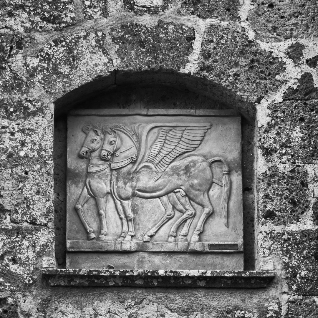 Cavalli alati di Tarquinia