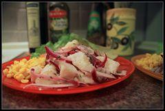 Cebiche Peruano - peruanisches Fischgericht