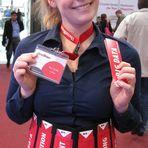 CeBIT Promotion Girl Nina